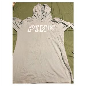 Long sleeve tshirt with hood